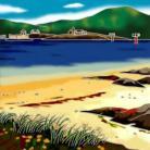 Vatersay Beach 8x8