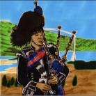 Scottish Piper 8x8