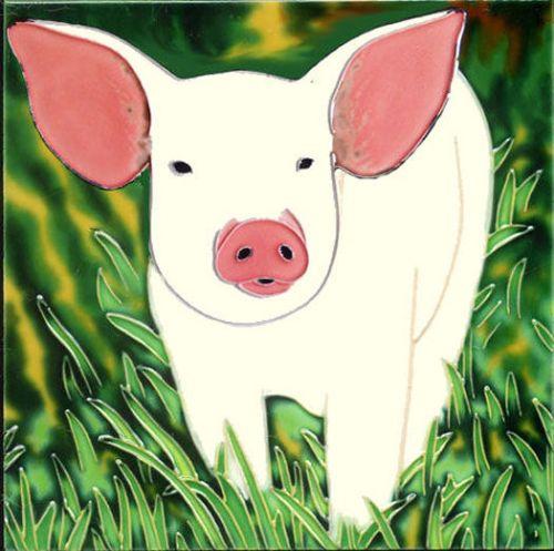 Cheeky Piglet 8x8