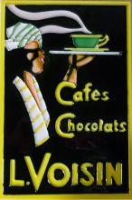 Cafes Chocolat 8x12