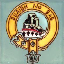 MacNeil Clan Crest 4x4