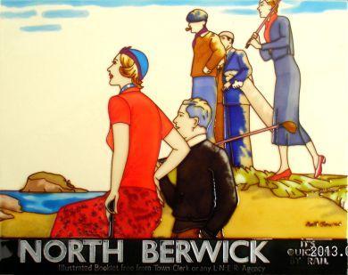 North Berwick LNER 11x14