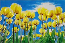 Yellow Tulips 8x12