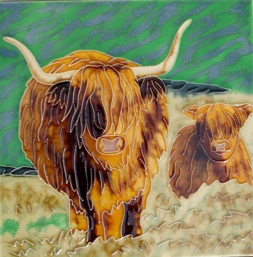 Highland Cows 8x8