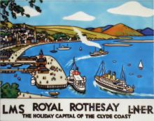 Royal Rothesay LNER 11x14