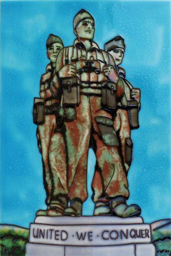 Commando Monument 8x12