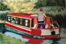 Canal Barge 8x12