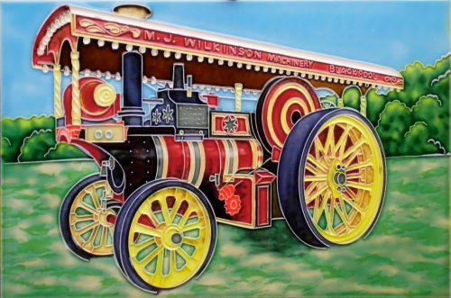 Showmans Engine 8x12
