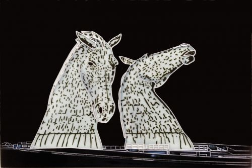 Midnight Kelpies 8x12