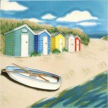 Beach Huts 8x8