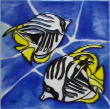 Butterfly fish 6x6
