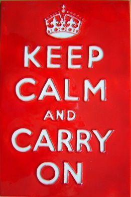 Keep Calm 8x12