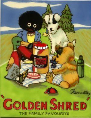 Golden Shred 11x14
