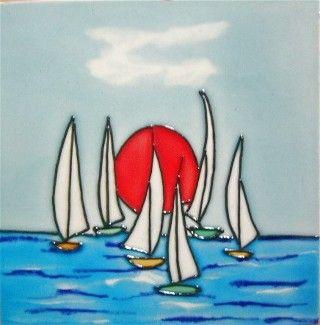 Evening Sail 6x6