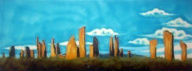 Callanish Stones 6x16