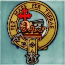 MacDonald 4x4 Clan Crest