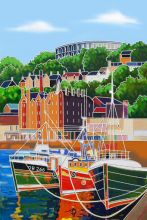 Oban Harbour 8x12