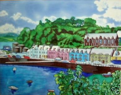 Portree Harbour 11x14